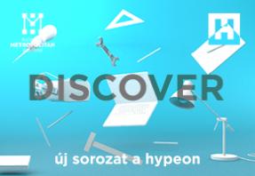 Discover cikksorozat a Hype and Hyperen Bárdos Anna