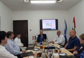 METU delegáció Izraelben